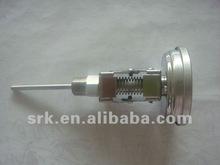 "3"" Adjustable Bimetallic Thermometer SS304 Case"