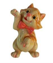 resin lovely cat figurine,cat decoration,cat ornament