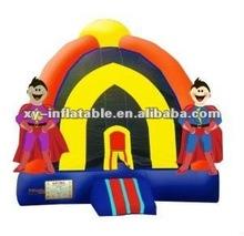 Popular Item in USA Inflatable 15'x15' Dual Superhero Bongo Bounce