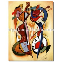 pop abstract musical instrument picture for decoration