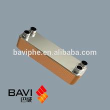 Aluminum Plate Fin Oil Cooler,Plate Heat Exchanger Structure Heat Transfer