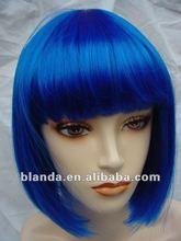 China Doll -Dark Blue Short Synthetic Wig