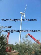 2015 Advanced design wind generator 50kw wind turbines variable pitch