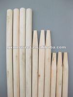 Sharp fence wood pole