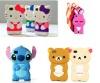 phone case Rabbit hello kitty 3d silicone case for iphone 4 4s ,for iphone 4s case hello kitty ,for iphone case 4s 5s 6