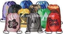 advertising promotion nylon/polyester drawstring backpack