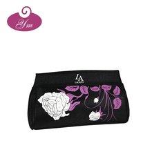2012 famous design Hign quality Hot sale satin cosmetic bag