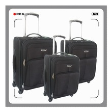 2012 Exclusive Looking 1680D Spinner Wheels Aluminum Trolley Luggage