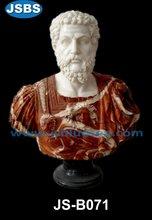 Ancient Man Bust Sculpture