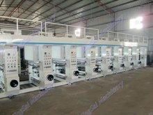 Multi Color Plastic Film Print Machine