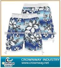 Full printed fast dry beach short/board short/swim trunks