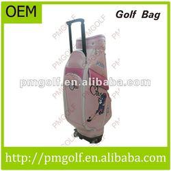 Pink Cartoon Golf Bags