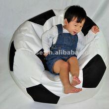 kids funny football beanbag chair