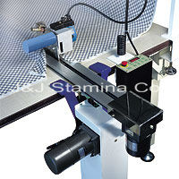 Machine / Automatic end cutter for roller blind fabrics