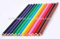 Crayons de couleur de atigrada, lapices de atigrada colores, crayon de couleur