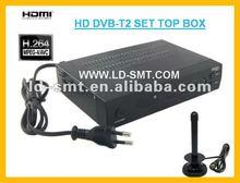 Ghana FTA DVB-T2 Receiver, H.264&MPEG4