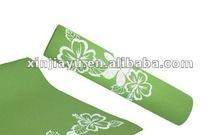 Wholesale retail yoga mats, fitness mats PVC material antibiosis Non-slip pad 6mm exercise mats