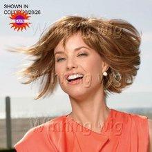 beauty virgin indian hair silk human hair wigNYHWIG-773