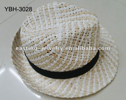 fashion straw summer hat,accept small qualtity orders with fast delivery time
