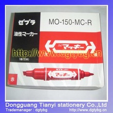 Double head Marker pen porcelain marker pen porcelain paint pen