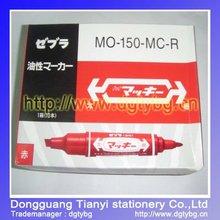 two-side head Marker pen oil based permanent marker pens