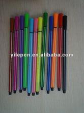 12 colors felt tip water color pen