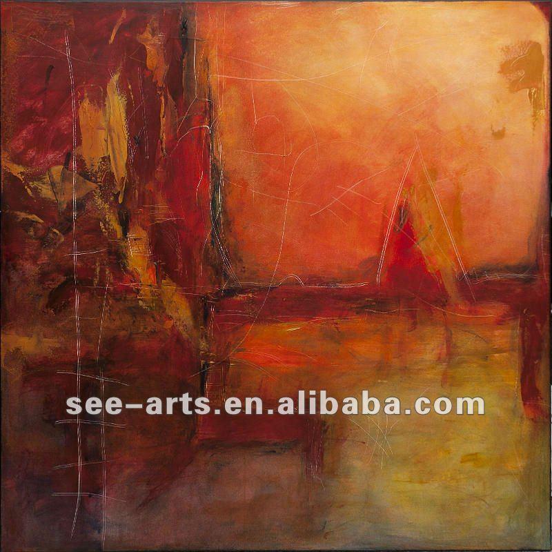 Simple pinturas abstractas para el hogar moderno pintura y - Pinturas para el hogar ...