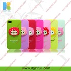3d funny silicone wholesale mobile phone case