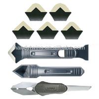 Plastic Silicone Trowel & Scraper Set