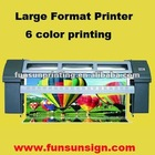 Large Format Plotter ( seiko head, 6 color printing )