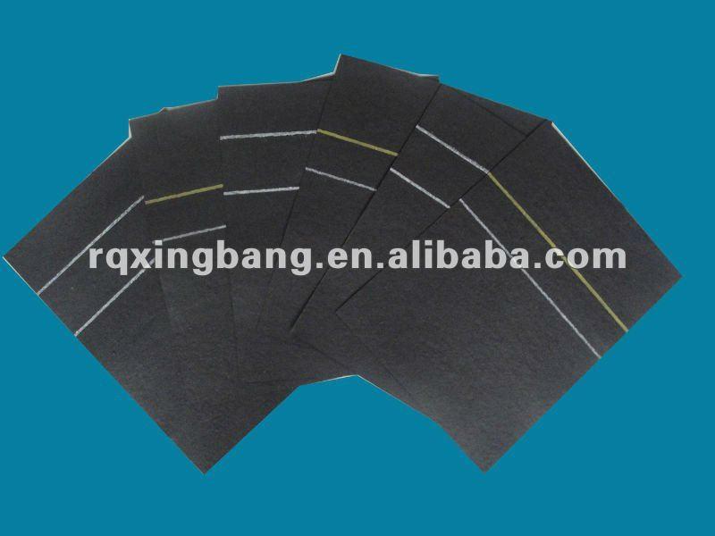 black paper asphalt roofing felt ASTM D-226 and ASTM D-4869