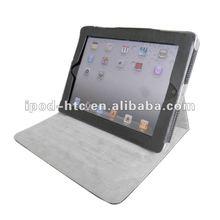 Black PU Leather Case Stand Cover for Apple iPad,iPad2&iPad 3rd