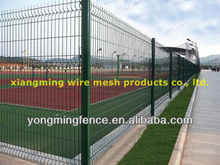 2012 heavy duty cheap 3D curved city street wire mesh fence/wire netting(china supplier/factory)