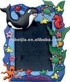صورة الحيوان قابلة للطباعة أسود اللون إطارات BJH-P001