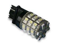 60 SMD 3157 4157 LED LIGHT BULB WHITE/AMBER TURN SIGNAL TAIL LAMP CAR SIDE MARKER LIGHT
