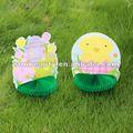 Frango, ovo, decoração de páscoa