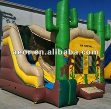 2012 Newly design inflatable jungle bounce house/Hot sale inflatable bouncer