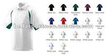 2012 Newest Polyester/Cotton/Spandex/OEM Stylish Short Sleeve Polo Collar T-Shirt Promotion T-shirt