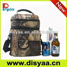 Solar cooler bag beer can cooler bag