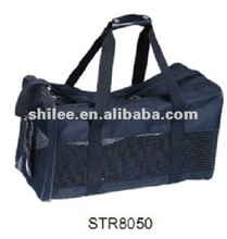 Black Pet Carrier Bag / Travel Bag