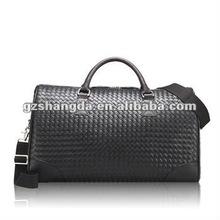 2012 New Designer braided leather travel bag