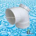 El drenaje de upvc codo 90 con la puerta pequeña din/bs/de plástico codos 90