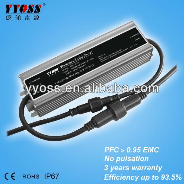 waterproof constant voltage 12v 24v 36v 48v LED driver (100W 150w 200w )