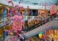 ab1251 flores hechas a mano para la decoración del atrio