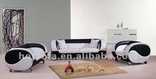 modern style leather sofa set, luxury home furniture sofa H420