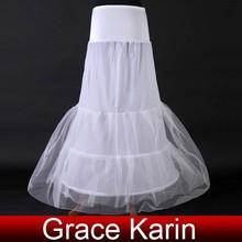 Grace Karin Hot Sale Cheap Long White Mermaid Wedding Bridal Petticoats CL2707