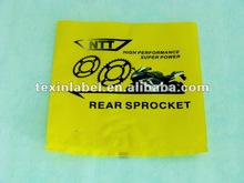 Packaging bags laminated plastic pouch for automobile parts