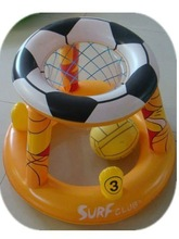 pvc inflatable pool basketball stands