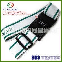custom luggage strap with tsa lock