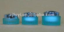 rotondo vaso acrilico cosmetico con coperchio 15g 30g 50g